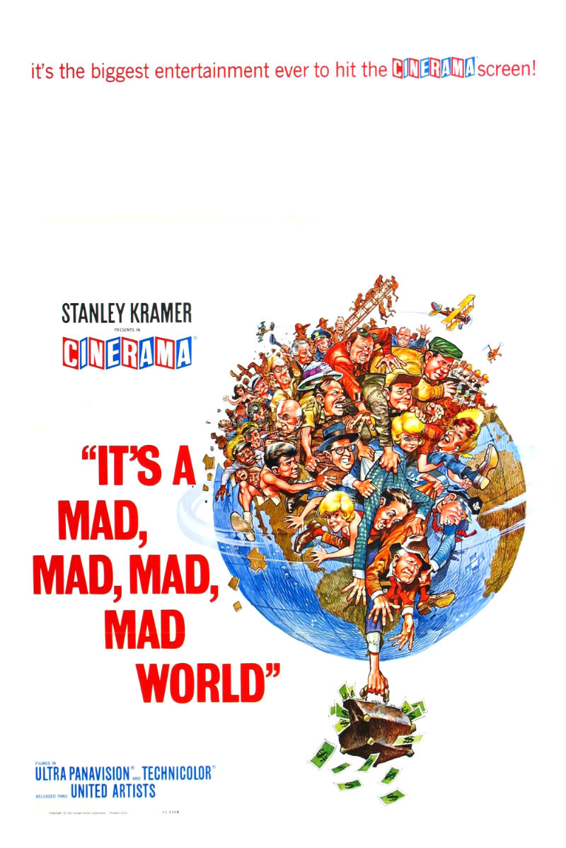 Its a Mad, Mad, Mad, Mad World posters